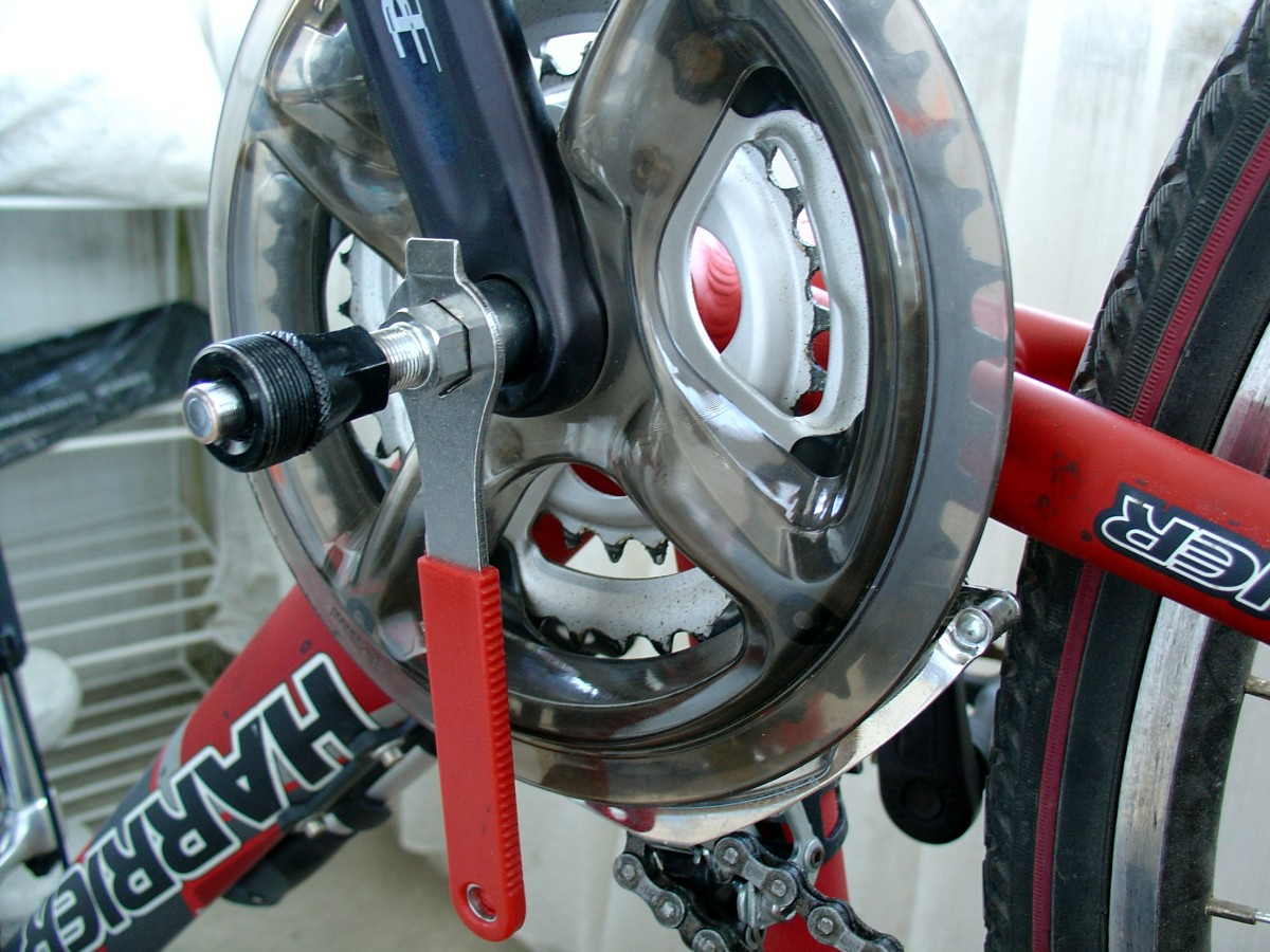 Demontare butuc pedale bicicleta – joc pedale bicicleta