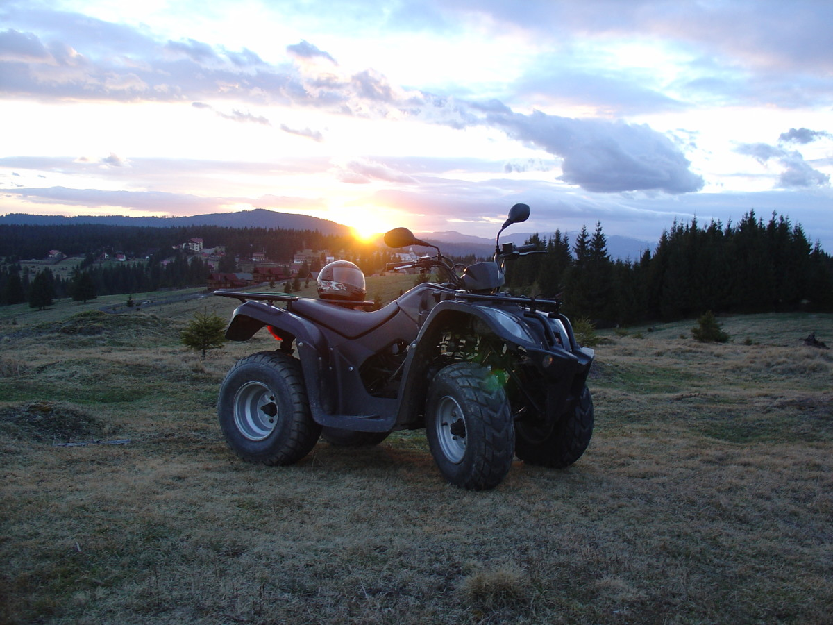 Inregistrare (inmatriculare) ATV, moped 50 cmc la primarie, numere galbene