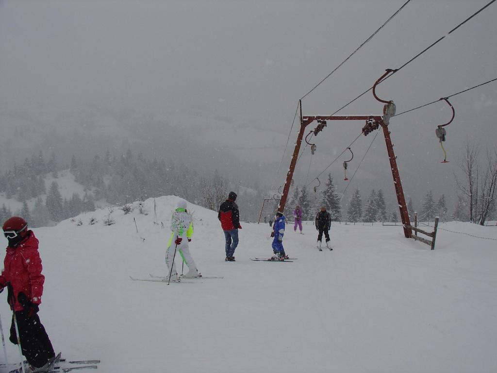 Partie schi Marisel, Cluj, Romania